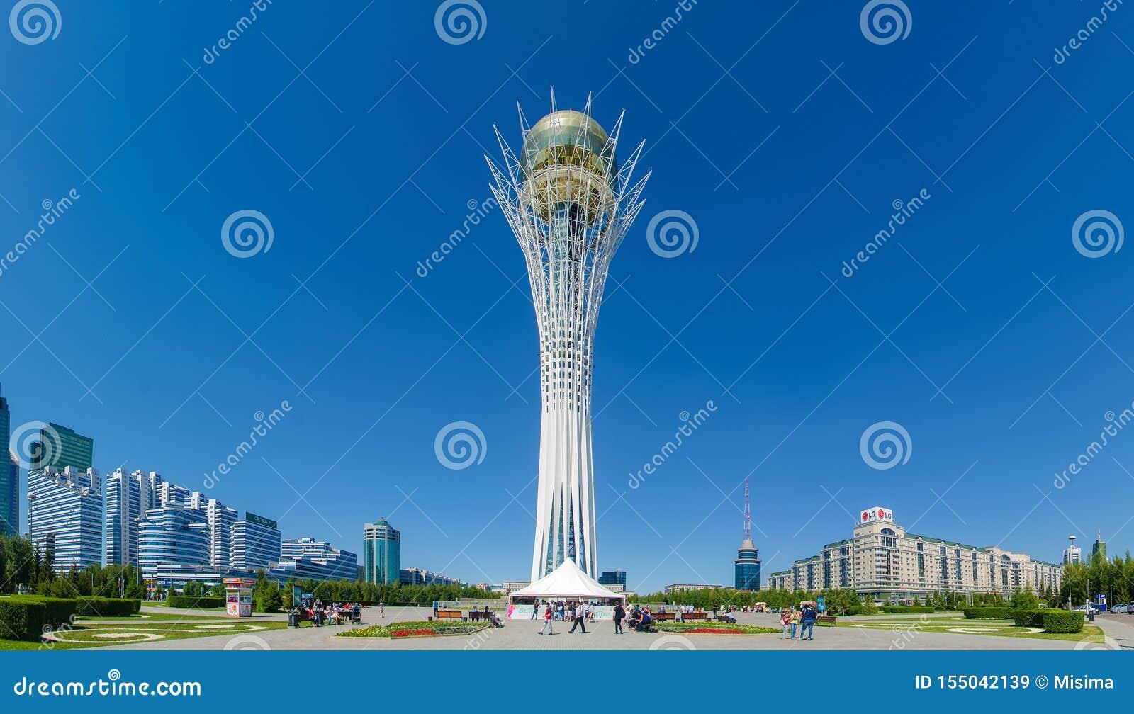 Monument de Baiterek, Nur-Sultan Astana