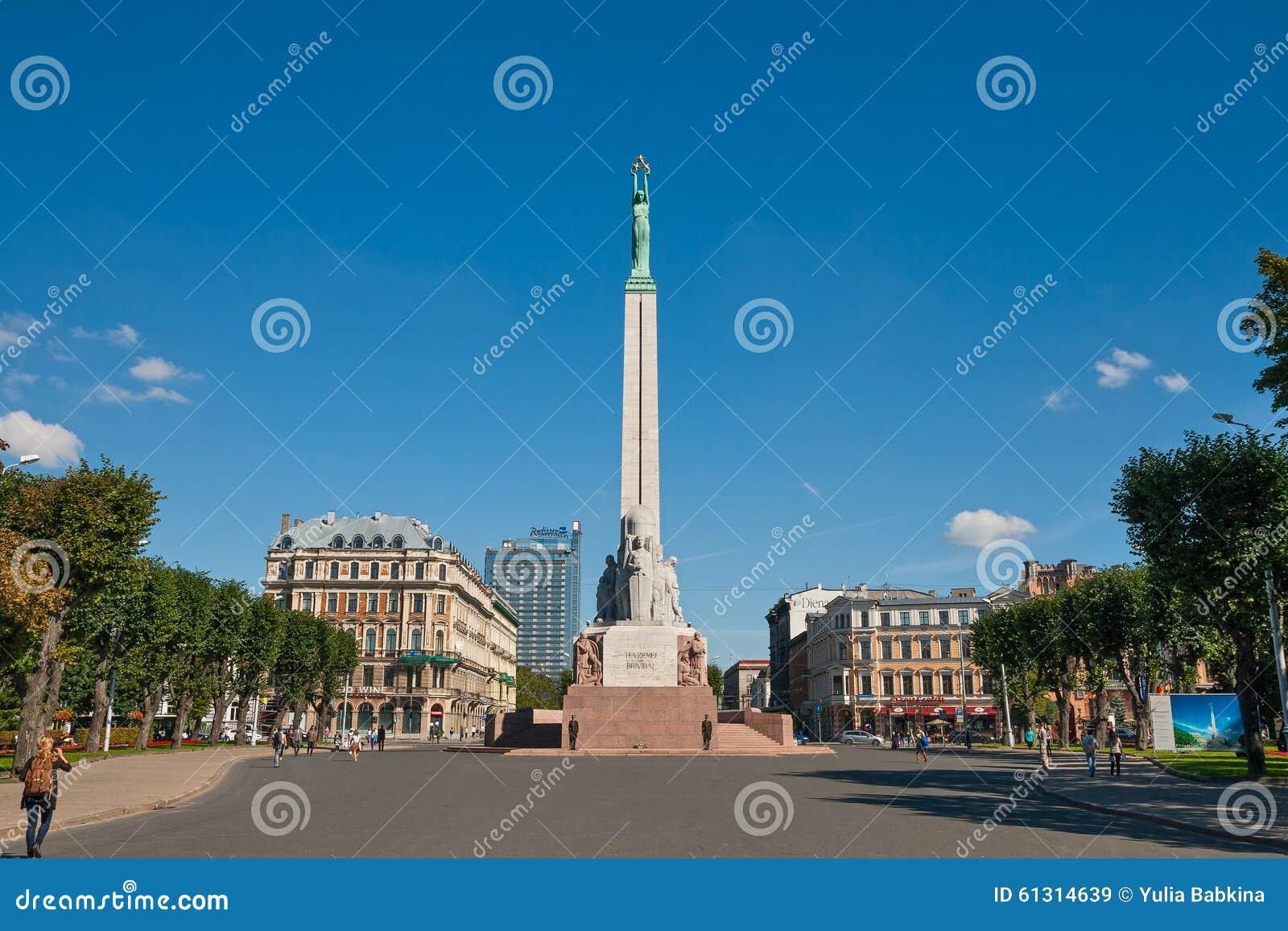 Monument de liberté à Riga