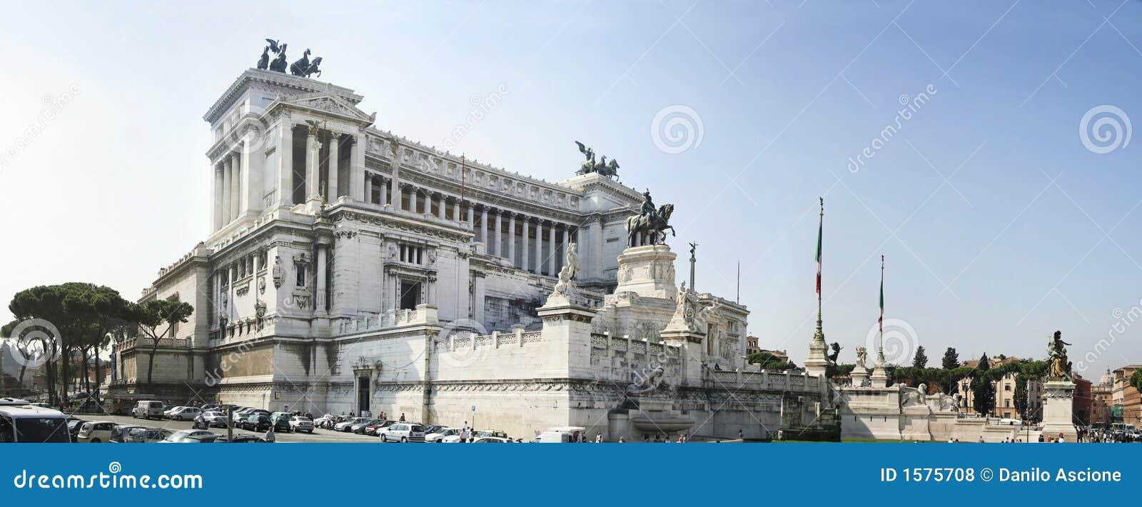 Monument de Vittorio Emanuele II à Rome