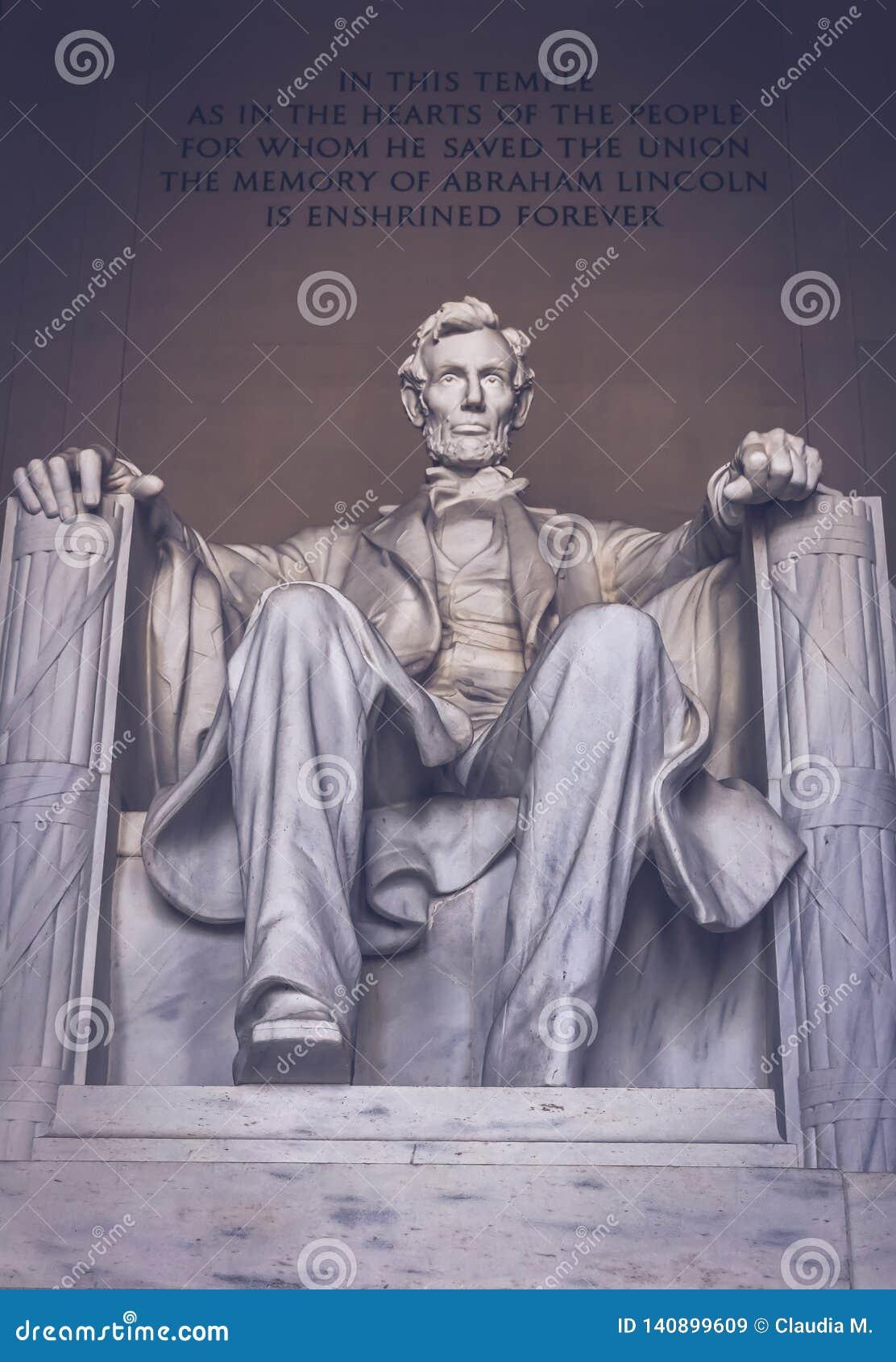 Monument du Lincoln Memorial à Washington