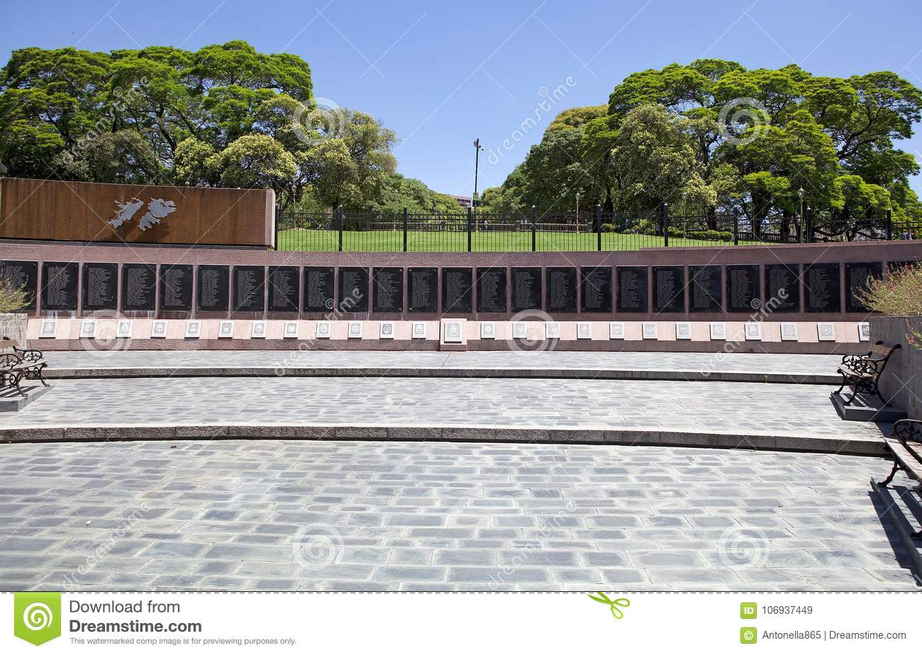 Monument for the Fallen in the Falklands, Buenos Aires, Argentina