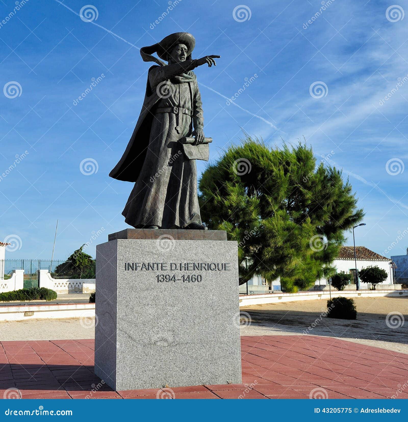 Download Monument Henry Navigatören, Sagres, Portugal Redaktionell Foto - Bild av gammalt, utomhus: 43205775