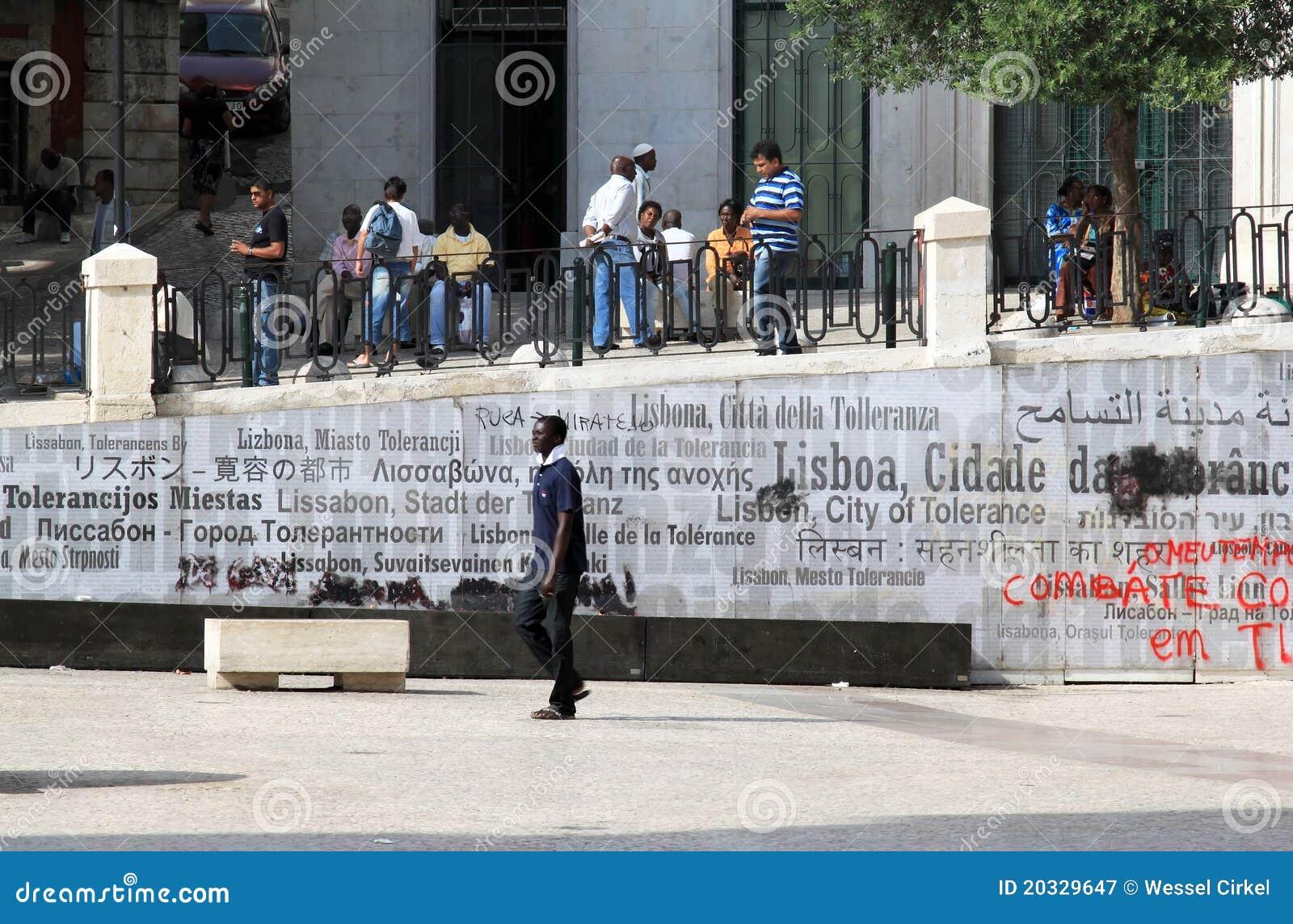 Monument multiculturel de société et de tolérance