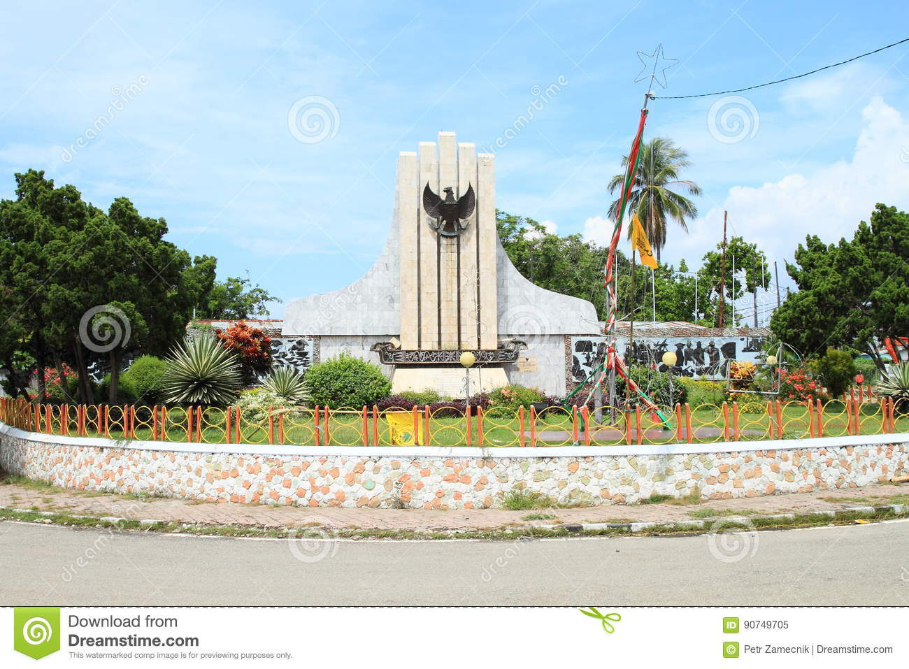 Monument of Pancasila in Ende