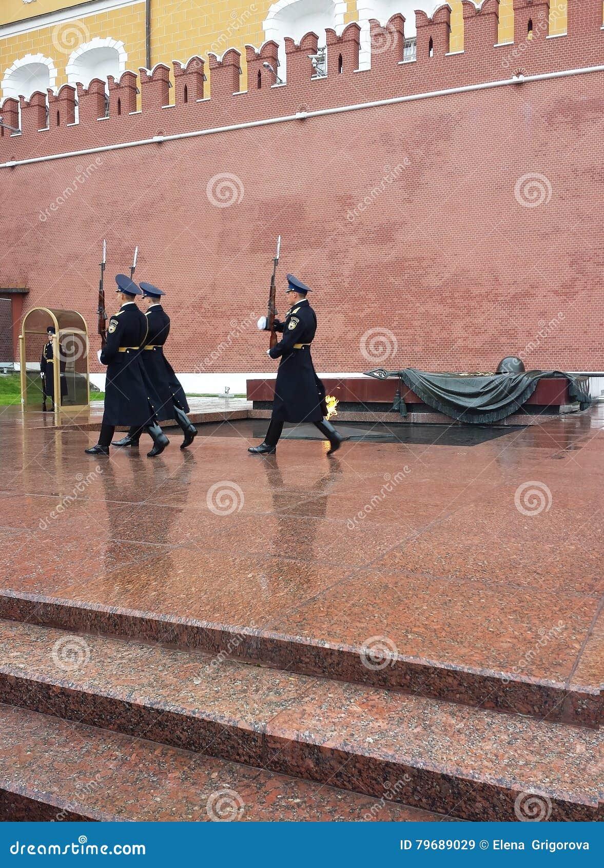 Monument till den okända soldaten i Moskva