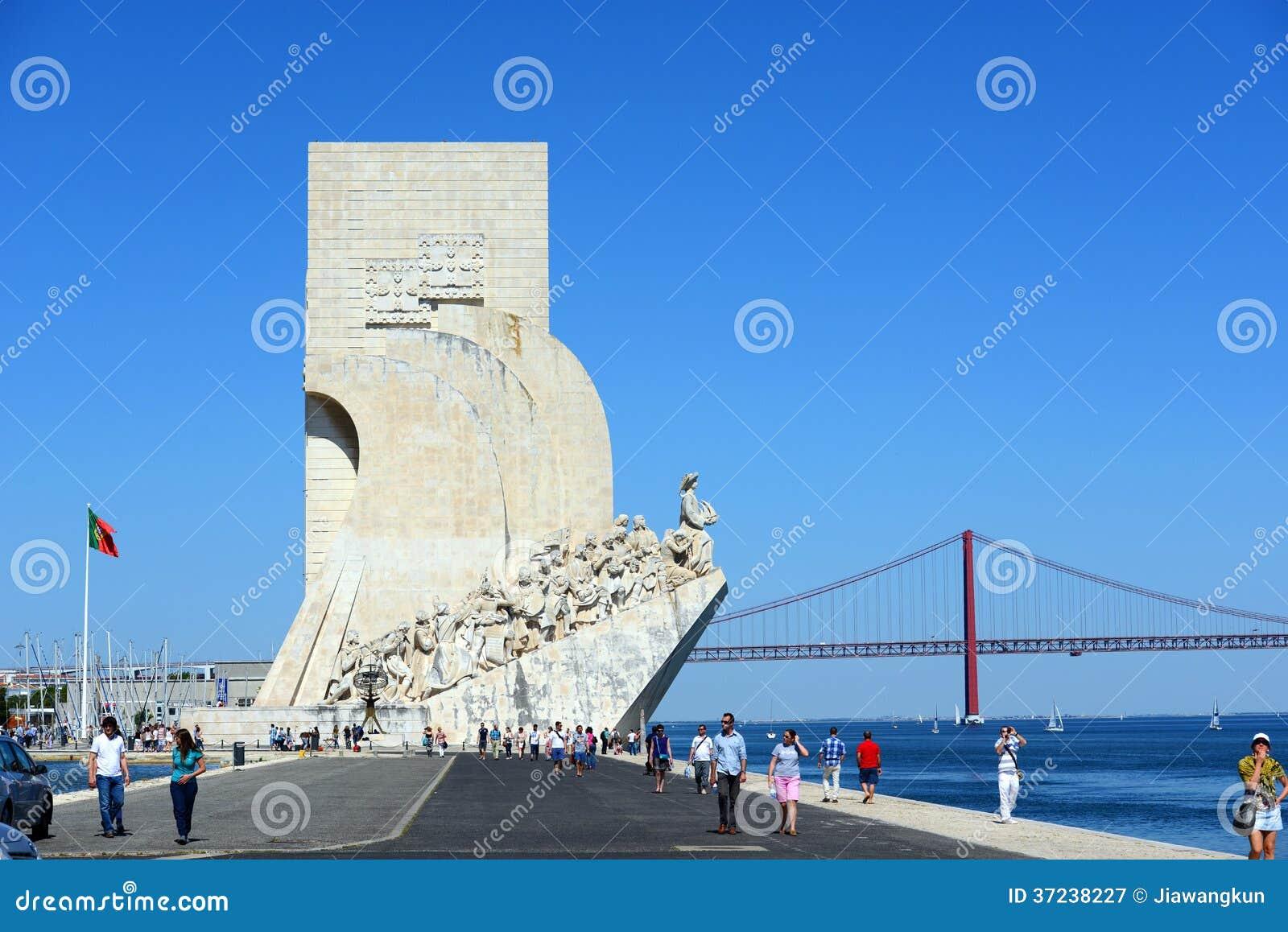 Monument till upptäckterna, Lissabon, Portugal