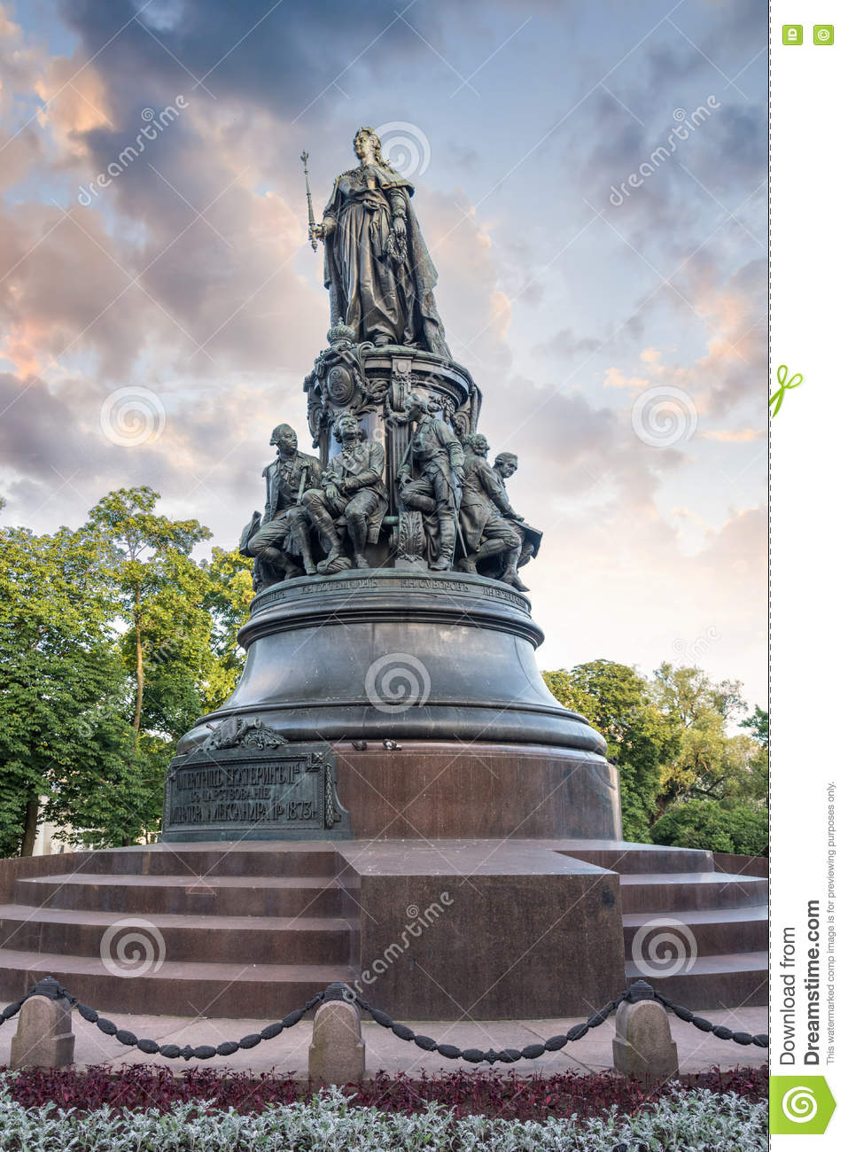Monument to Catherine the Great in St. Petersburg: description, photo 50