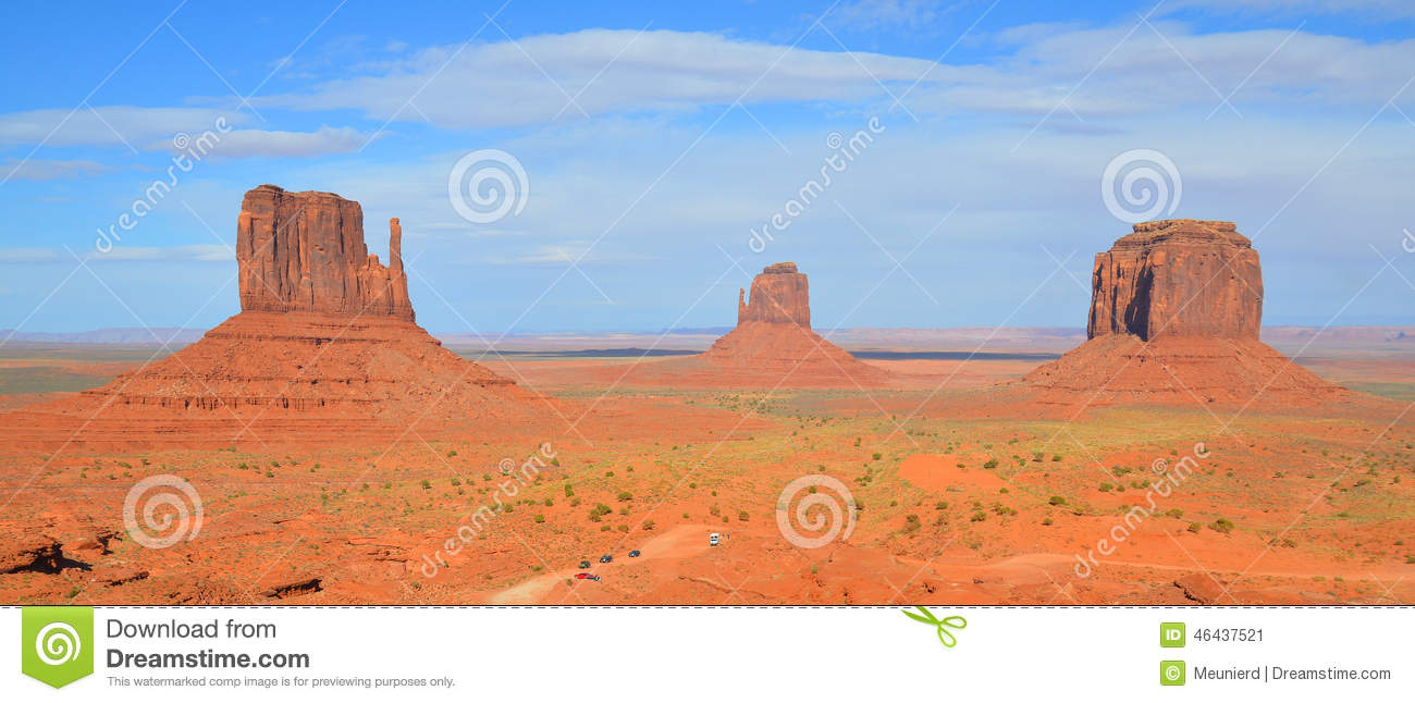 Monument Valley Stock Photo Image 46437521