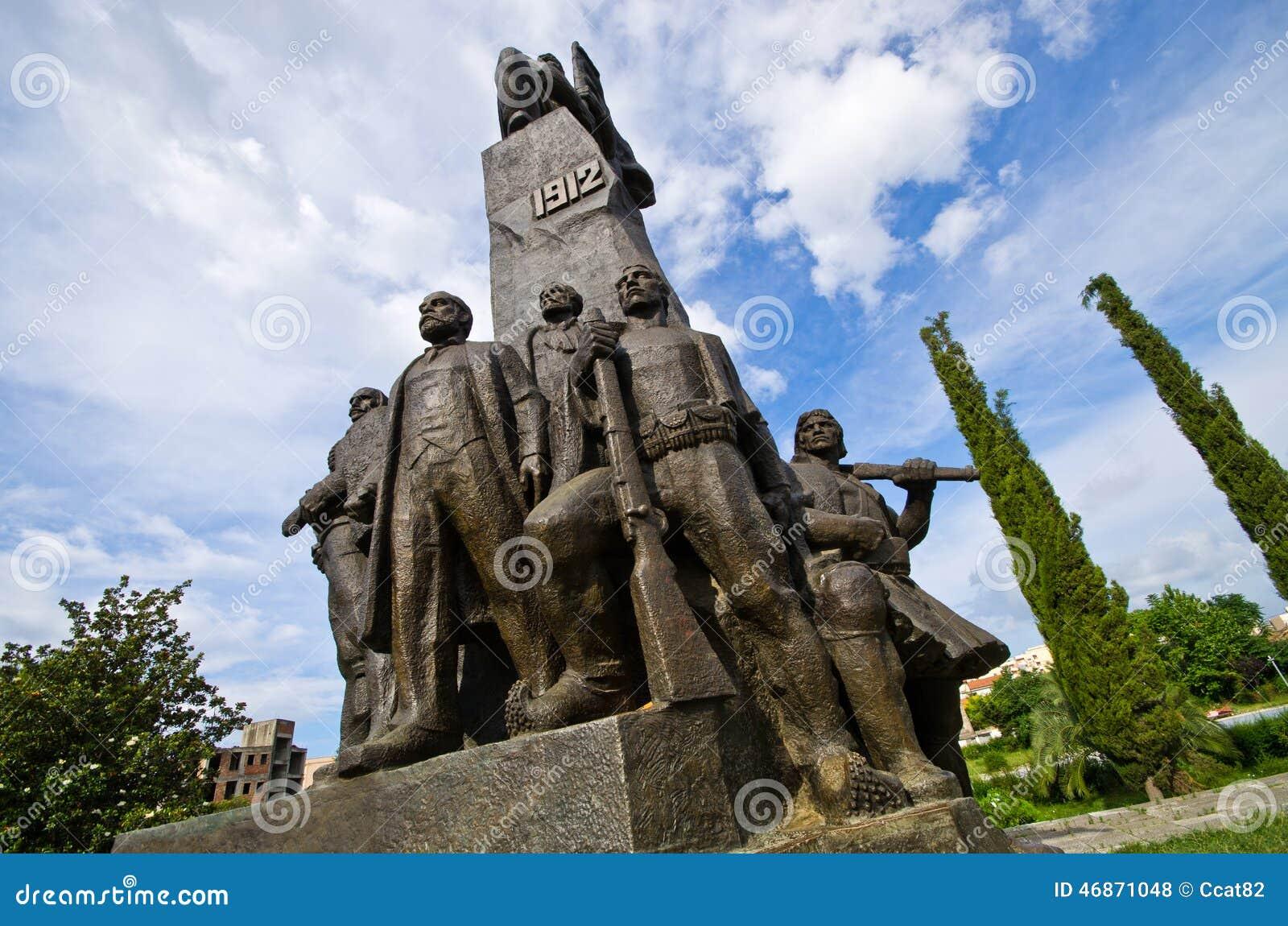 Monument von Unabhängigkeit in Vlore, Albanien