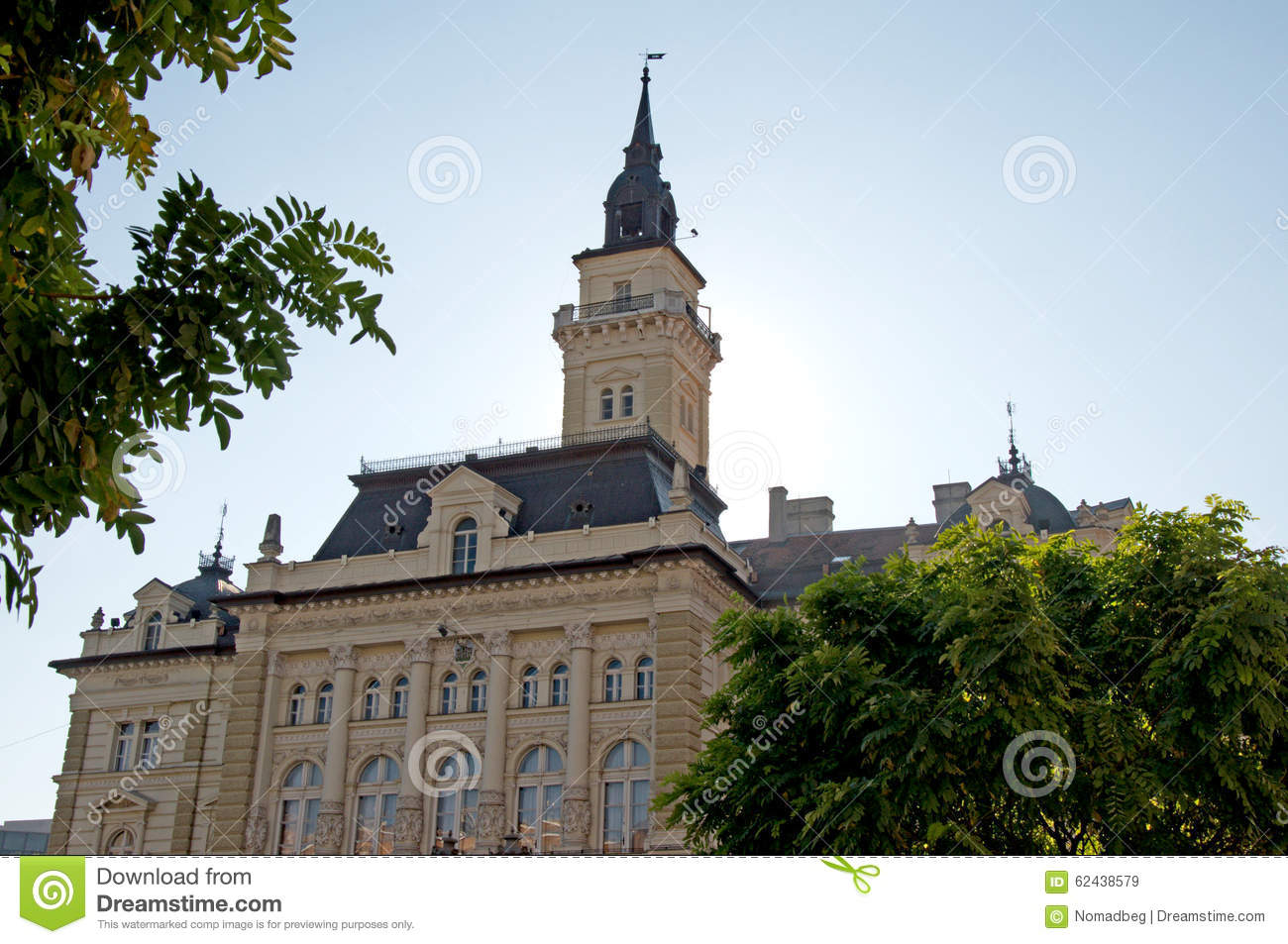 Monumental and representative palace of Romanticism