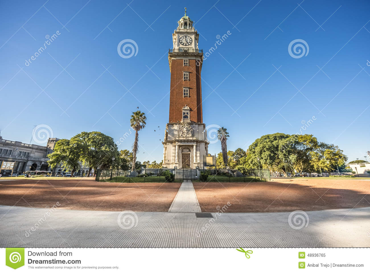Monumental Tower in Buenos Aires, Argentina