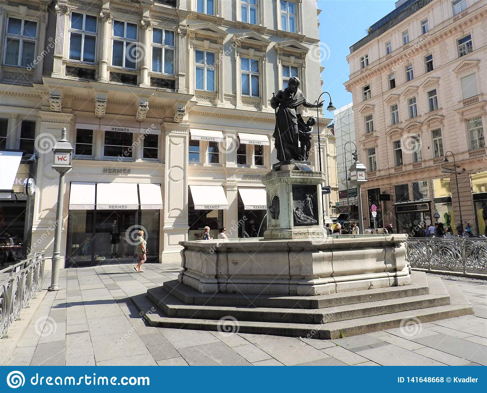 Monumente von Wien, Österreich, ein klarer sonniger Tag