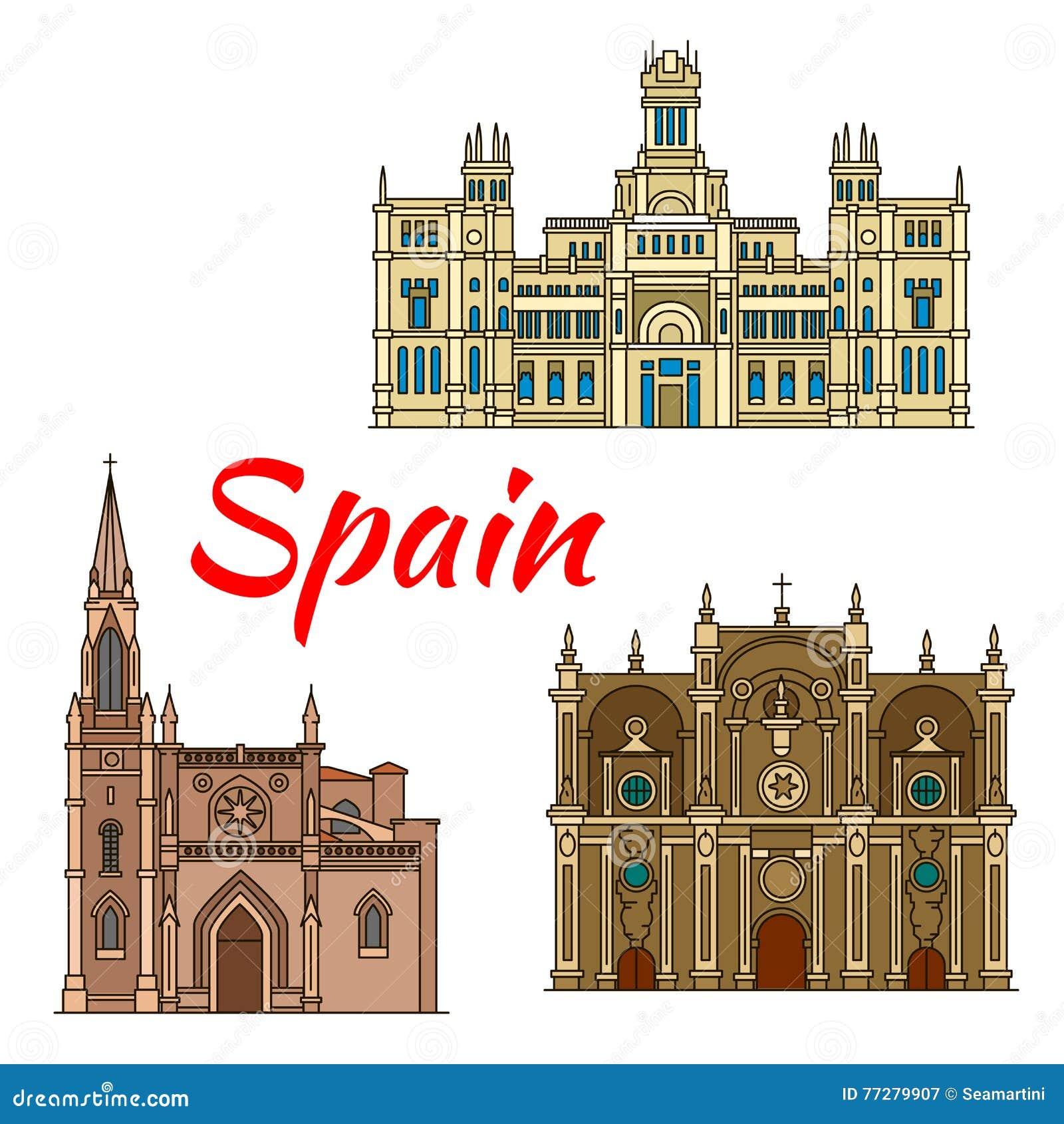 Monumenti storici ed architettura della spagna for Palazzo in stile spagnolo