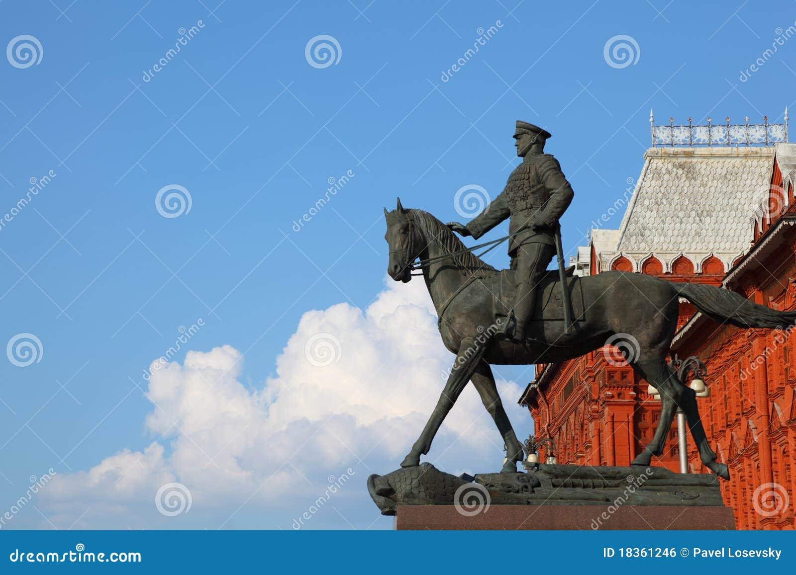 Monumento ao marechal de União Soviética Georgy Zhukov