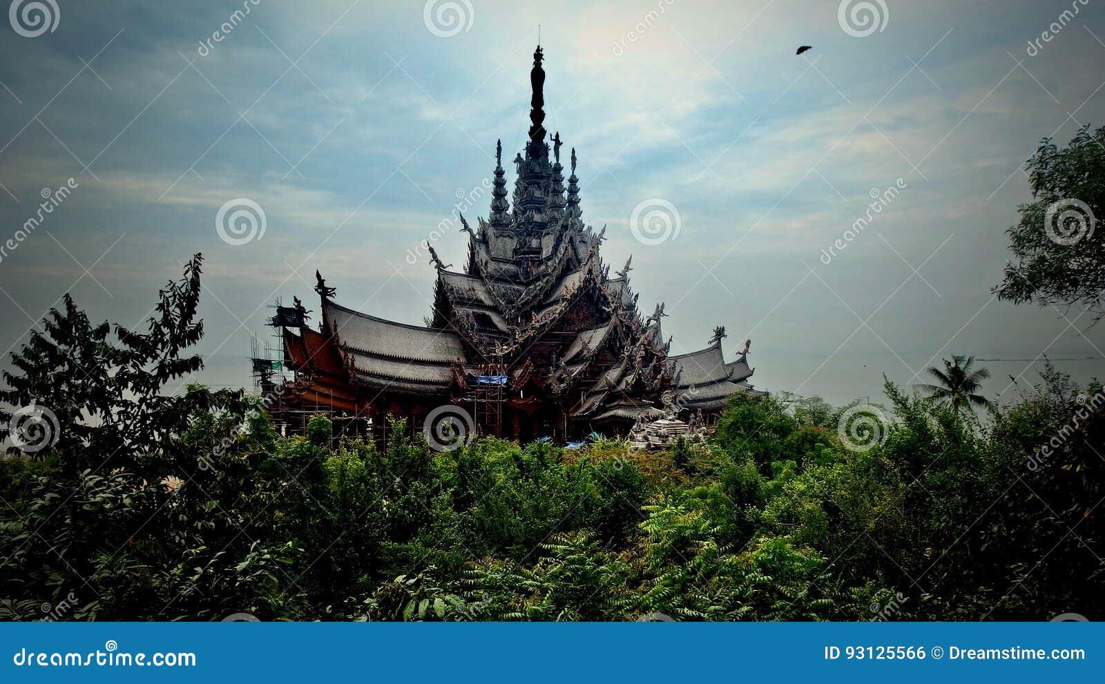 Monumento budista en Tailandia Gran palacio real bangkok