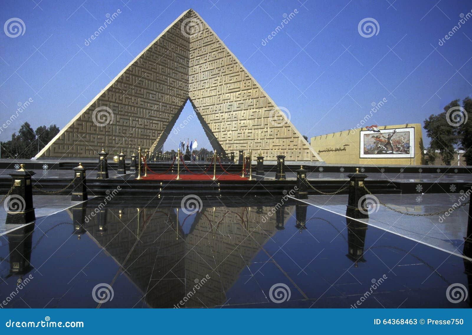 MONUMENTO DE ÁFRICA EGIPTO O CAIRO SADAT