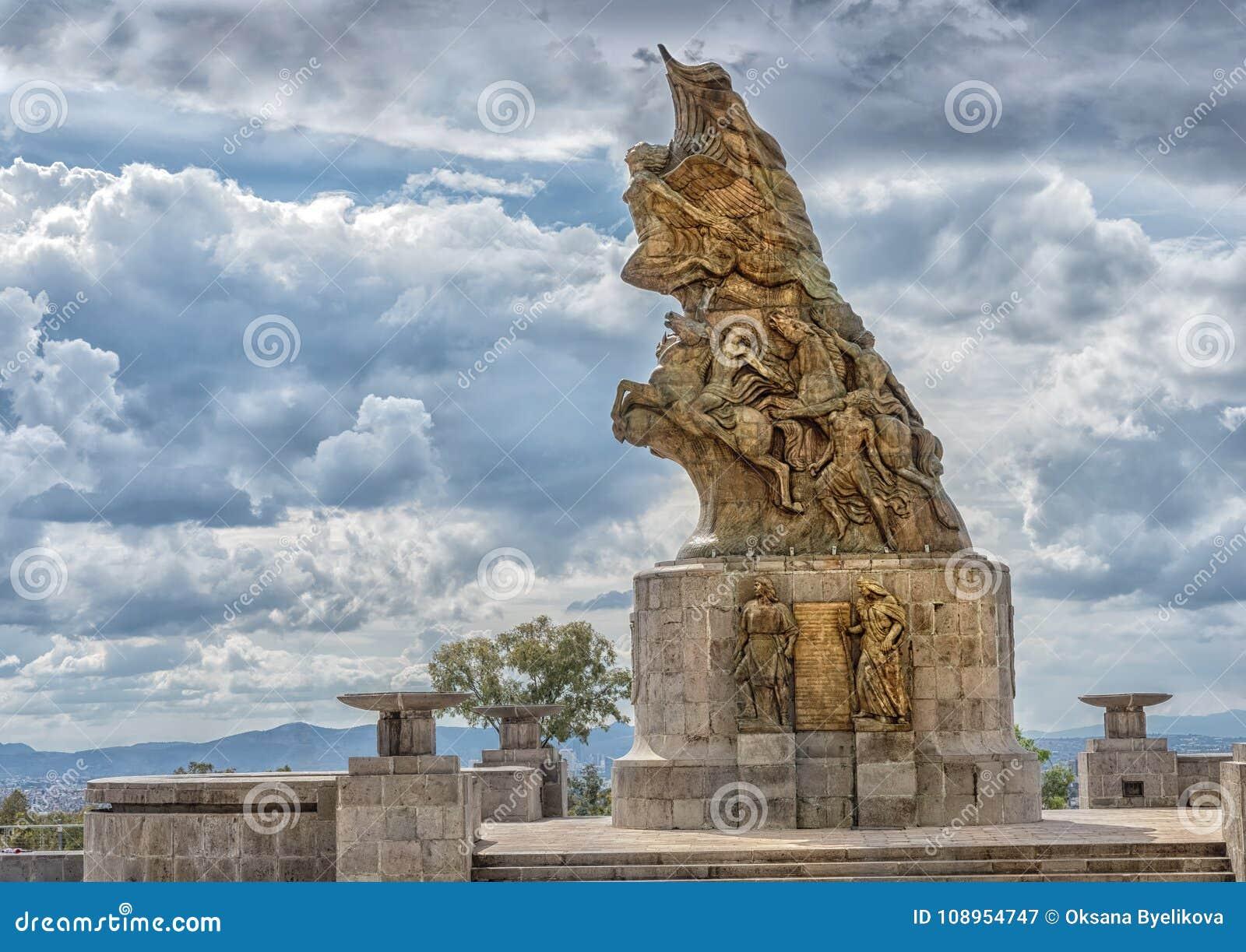 Monumento de Cinco de Mayo Victory em Puebla, México