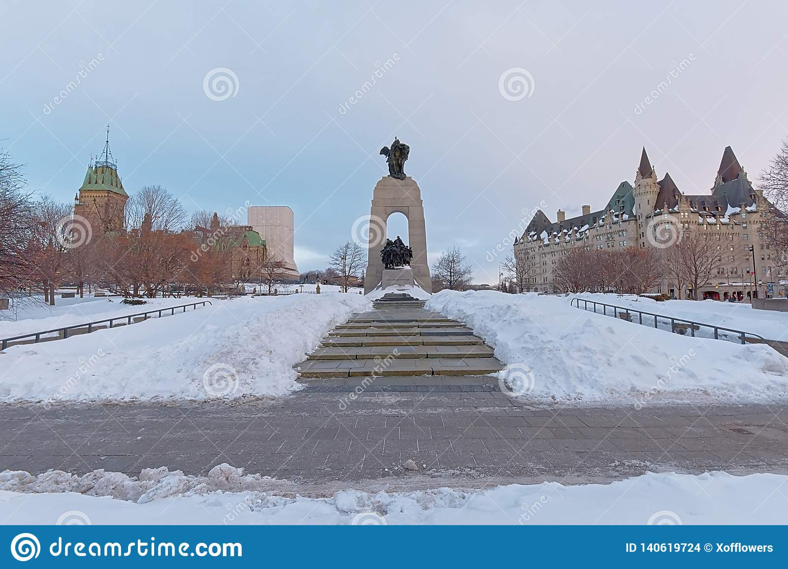 Monumento de guerra nacional, Ottawa, Canadá