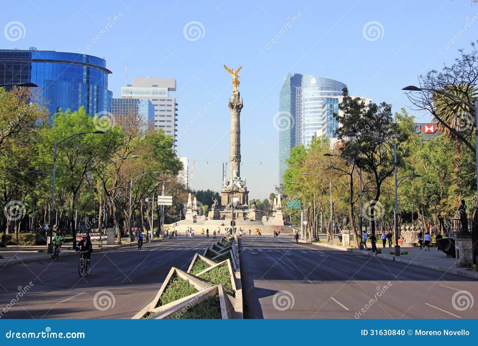 Monumento de Indipendence, Cidade do México