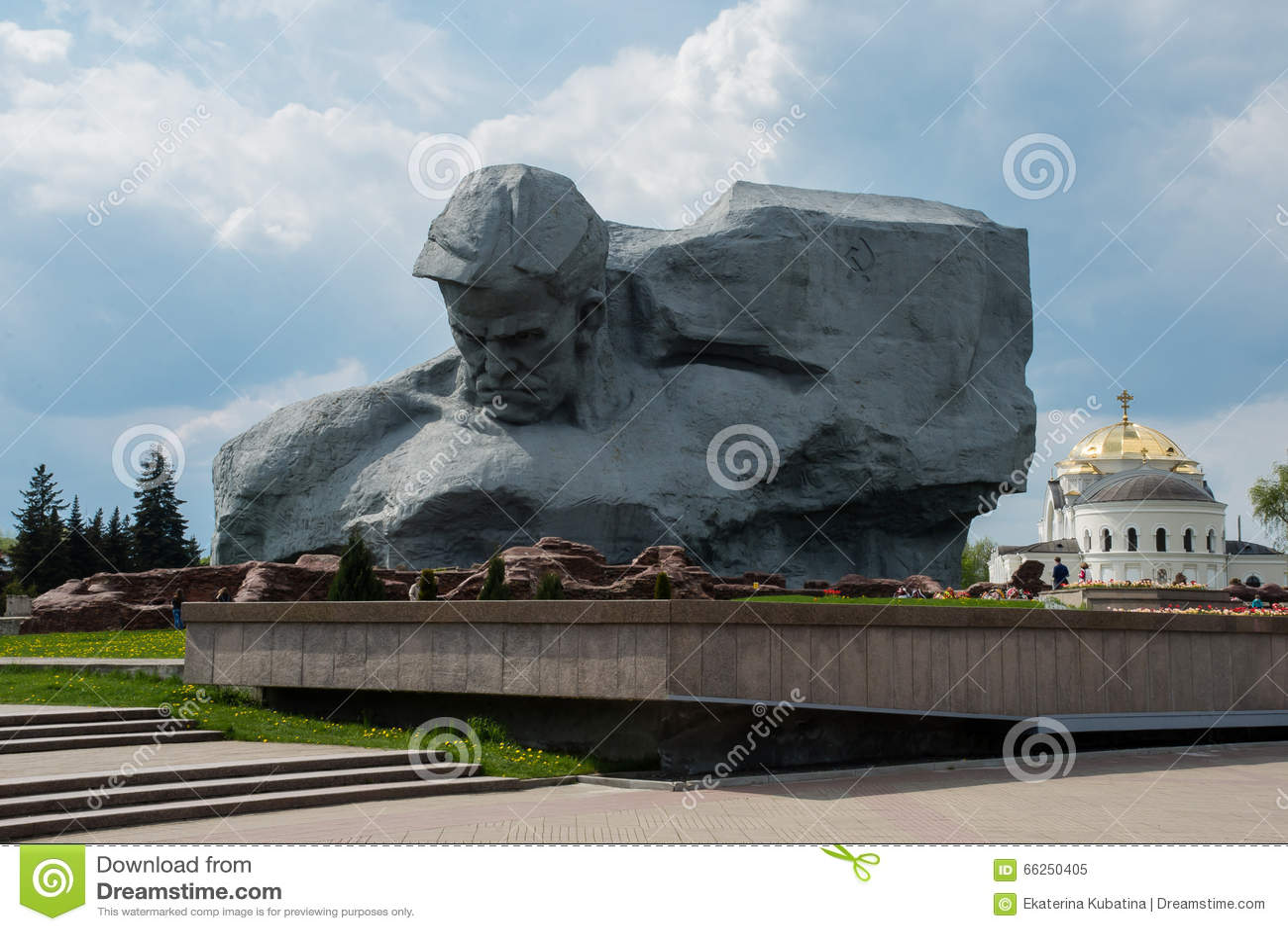 Monumento de la fortaleza de Brest