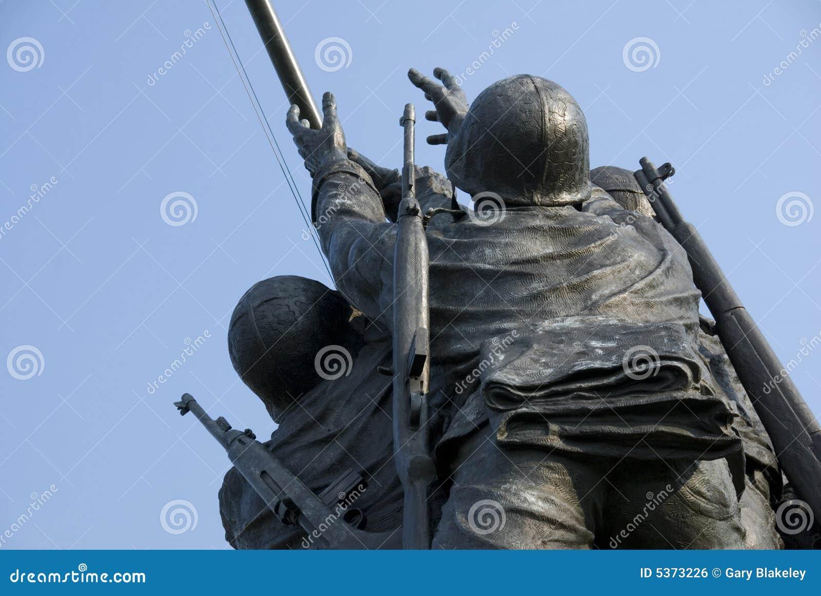 Monumento de la guerra del Cuerpo del Marines de los E.E.U.U.