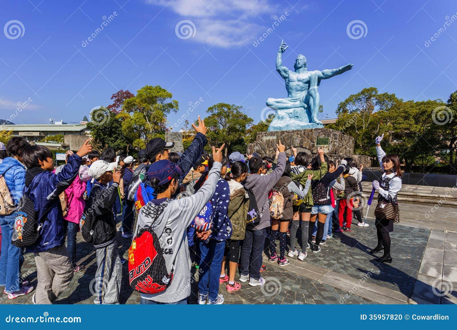 Monumento de la paz de Nagasaki