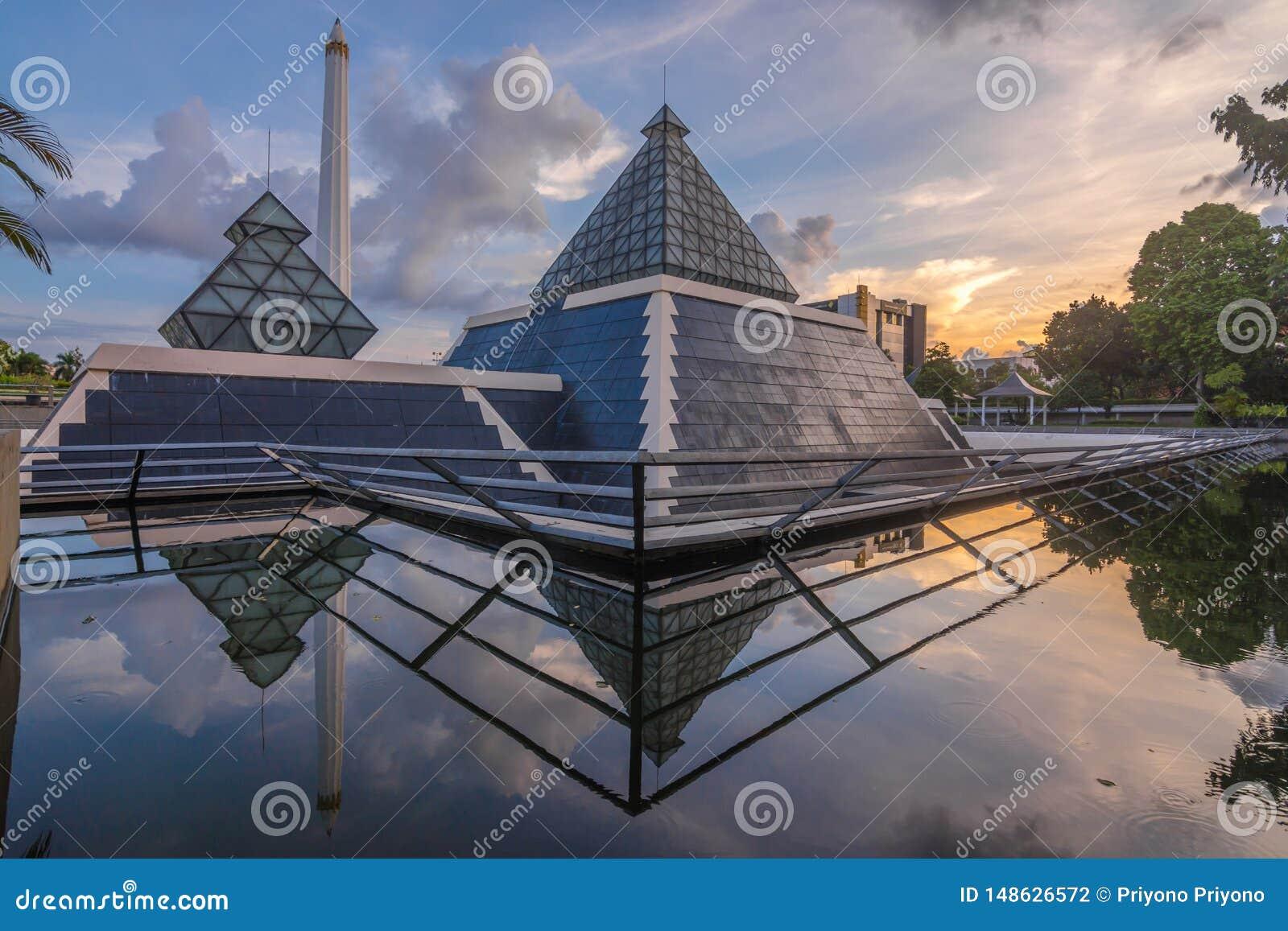 Monumento de los héroes, Surabaya, Java Oriental, Indonesia