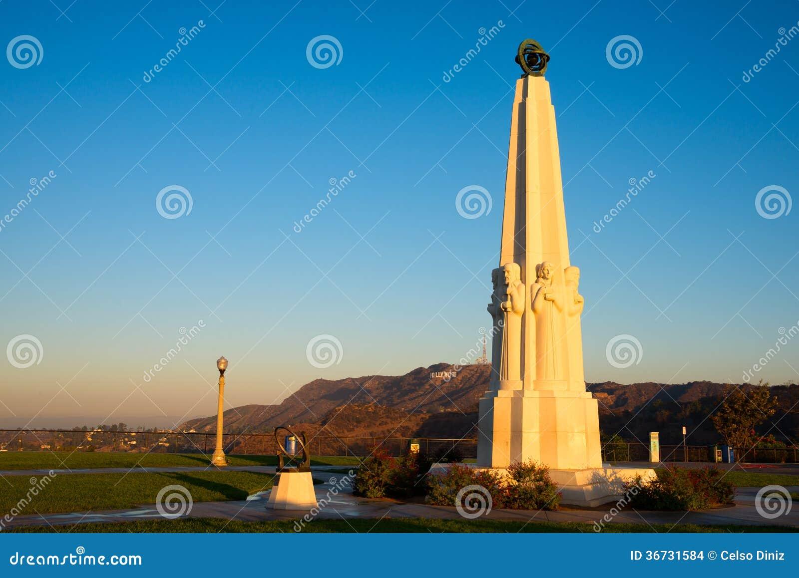 Monumento degli astronomi in Griffith Park