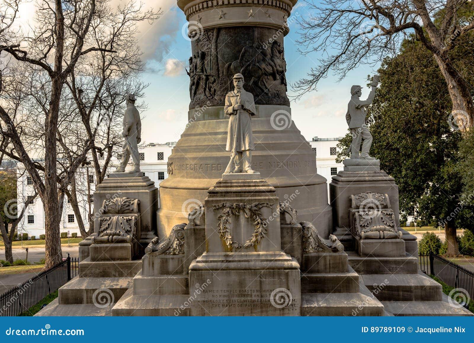 Monumento del confederado de Alabama