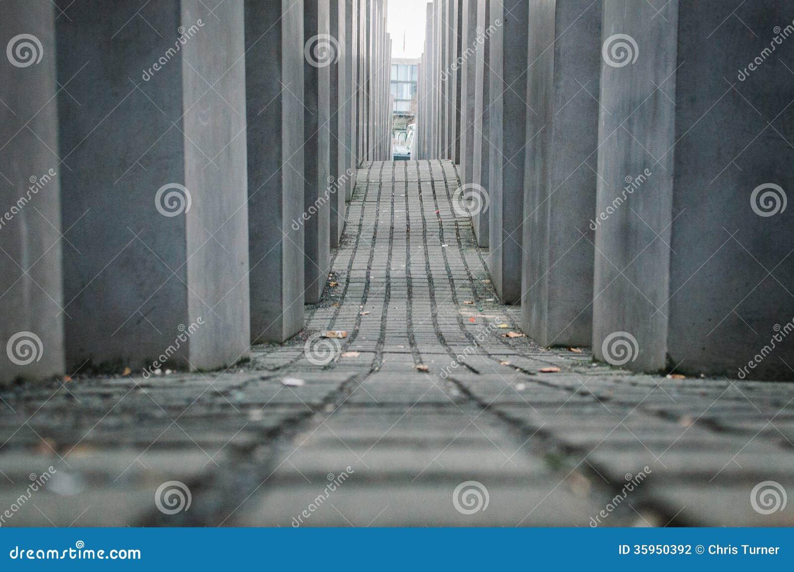 Monumento del holocausto en Berlín