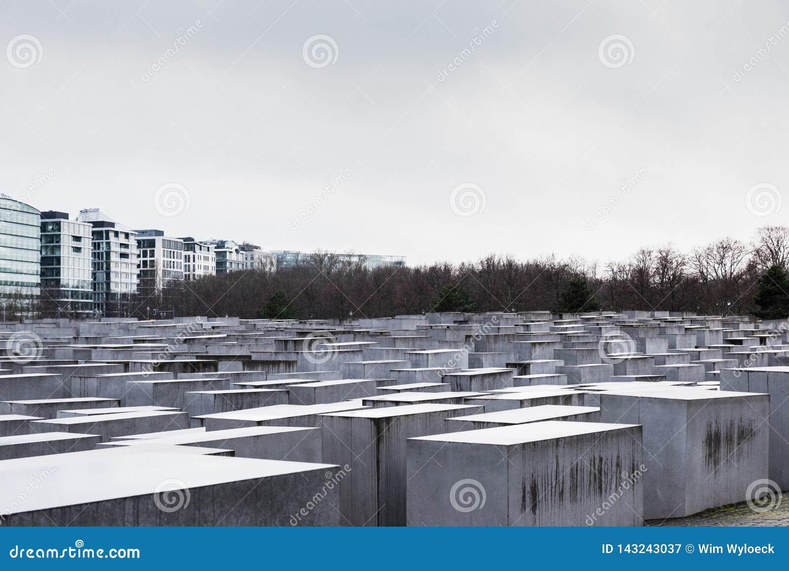 Monumento del holocausto a los judíos asesinados de Europa, Berlín, Alemania