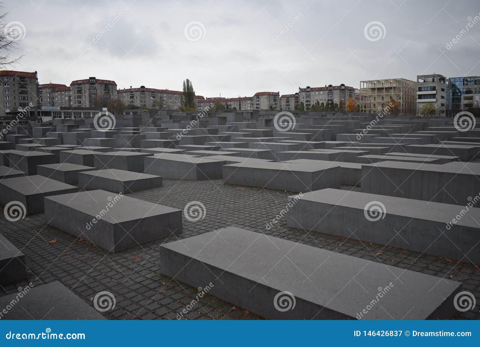 Monumento a los jud?os asesinados de Europa en Berl?n