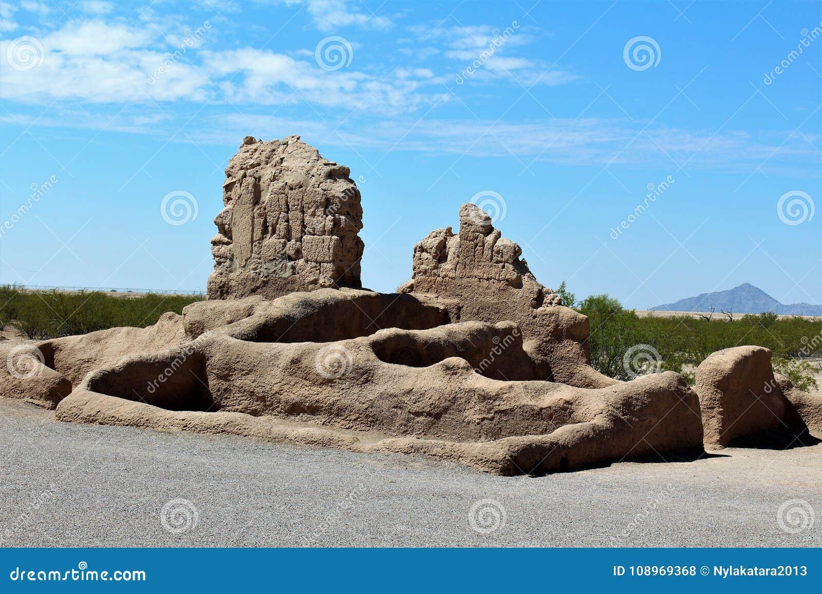Monumento nacional Arizona de las grandes ruinas de la casa