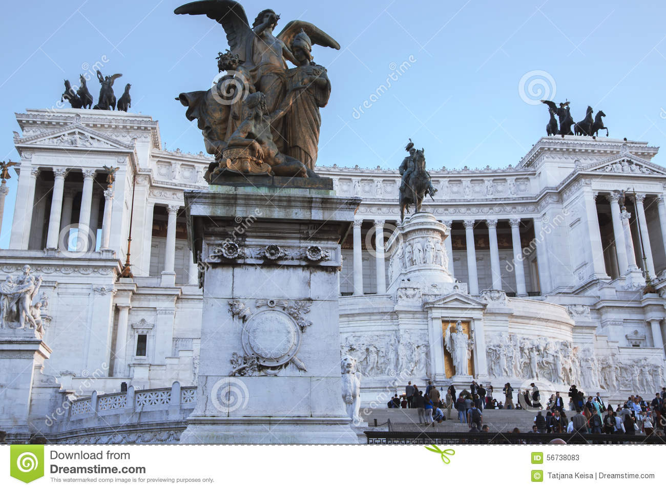 The monumento nazionale a vittorio emanuele ii editorial for Builders first