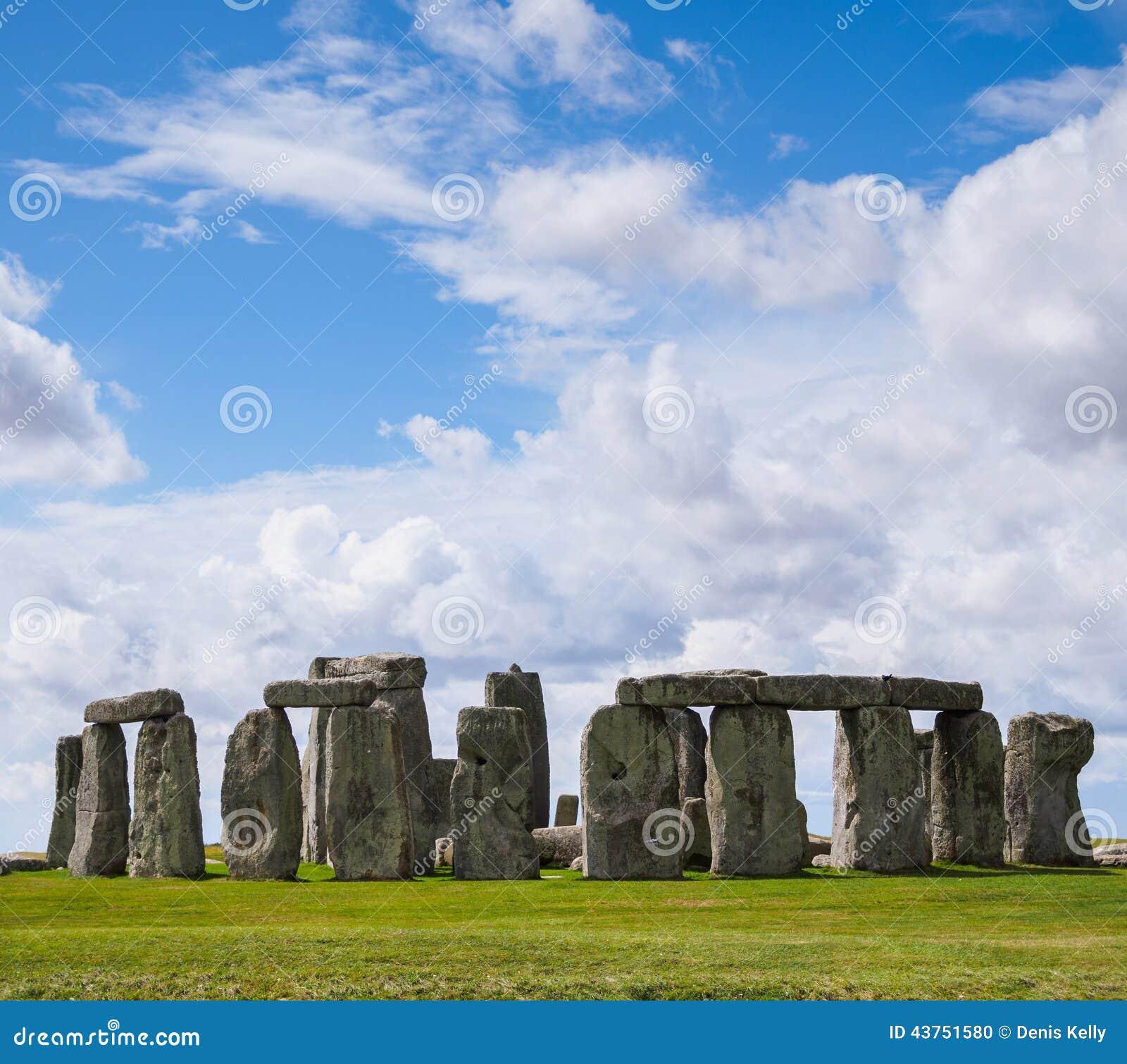 Monumento pré-histórico das pedras eretas de Stonehenge