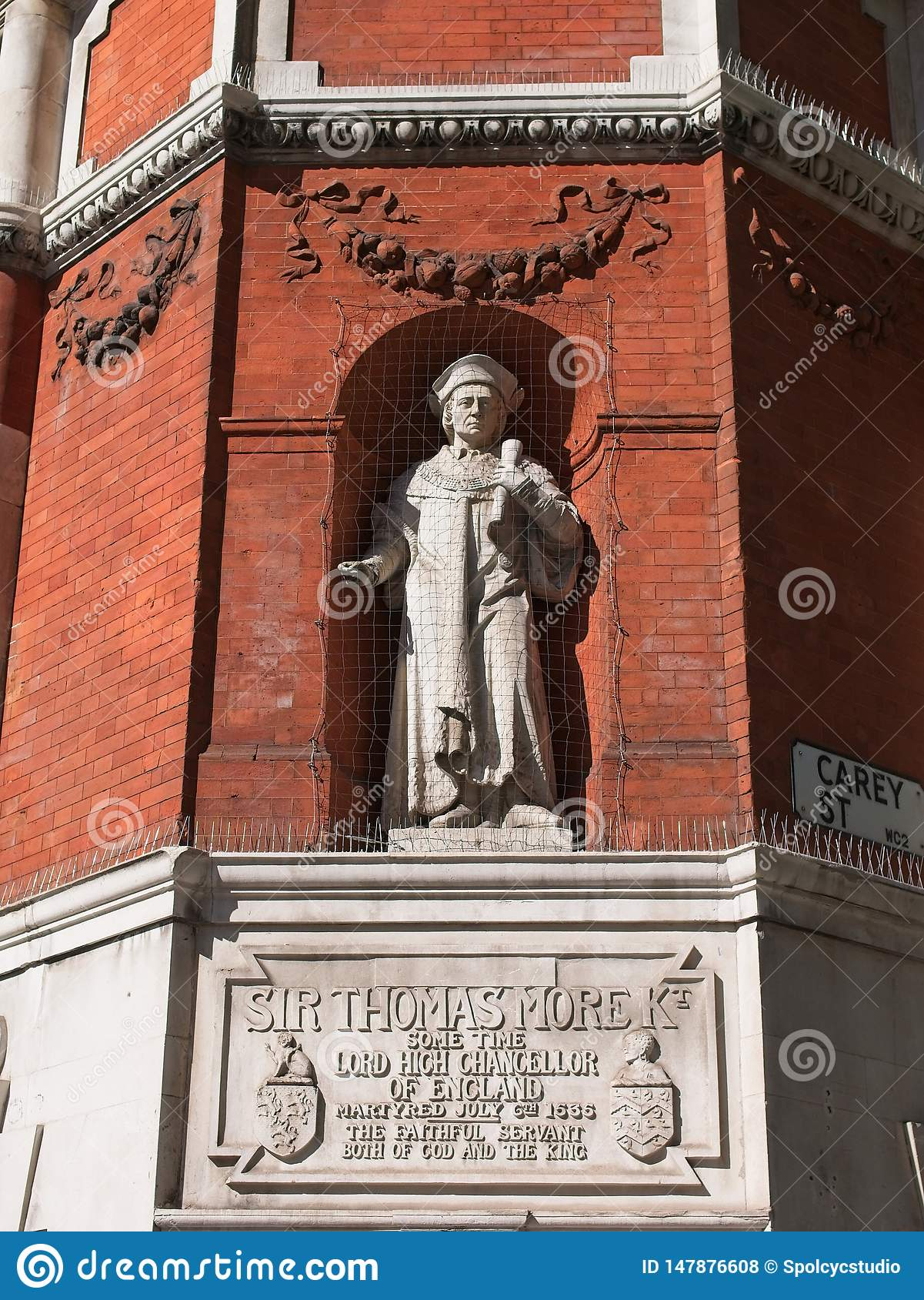 Monumento a Sir Thomas More
