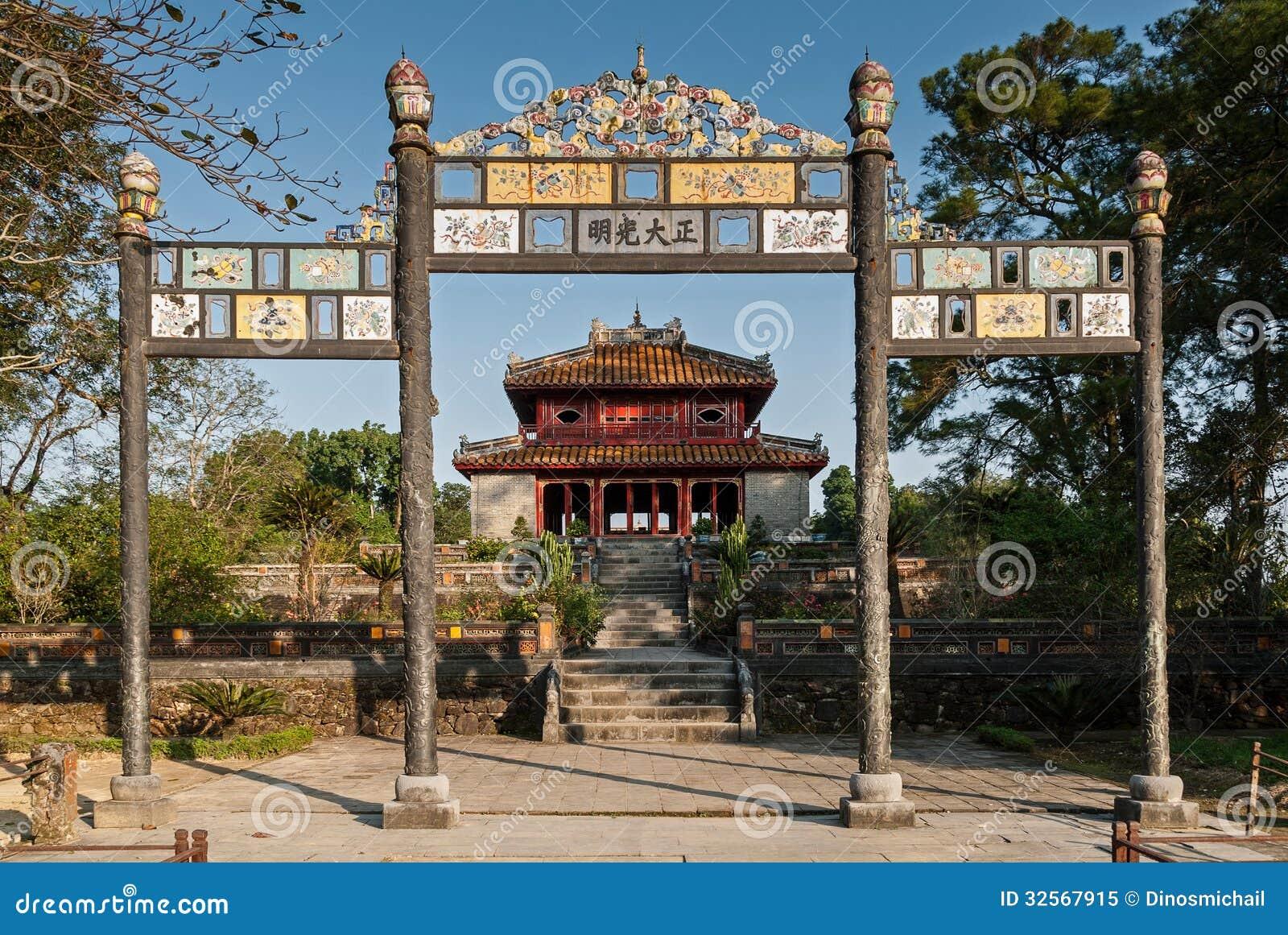 Monumentos de la tonalidad, Vietnam