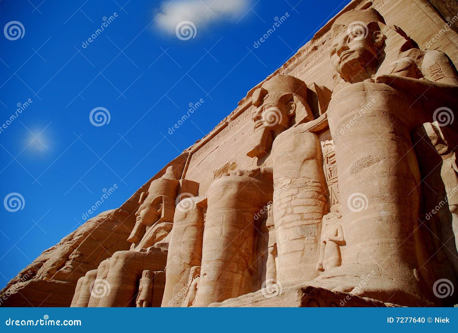 Monumentos en Egipto