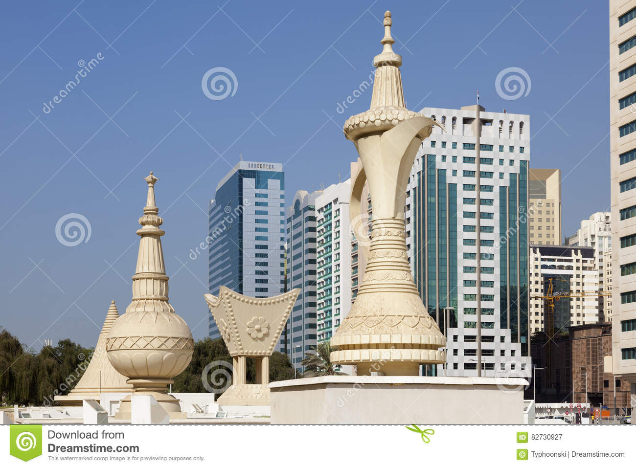 Monuments in abu dhabi stock image image of arab incense for The most popular hotel in dubai