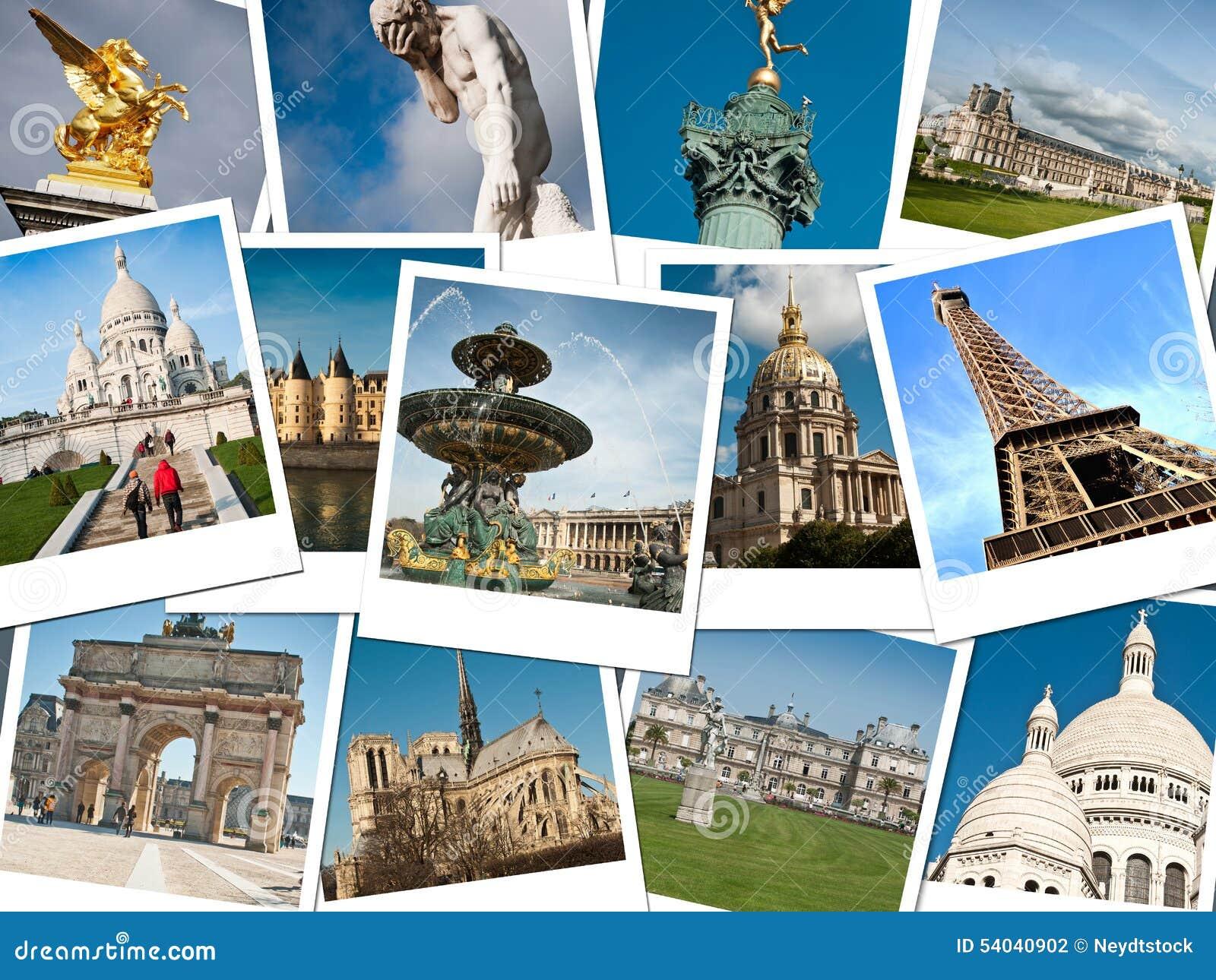 Monuments de paris photo stock image du bleu monuments for Les photos de paris