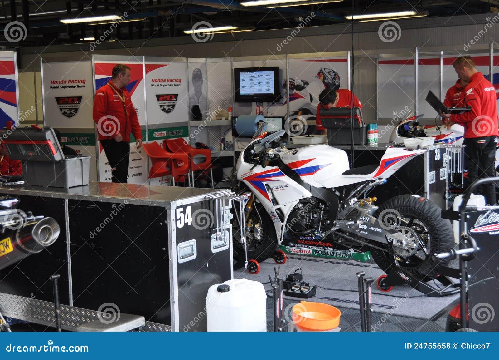 Monza 2012 - Honda Drużyna Bieżna Światowa Superbike