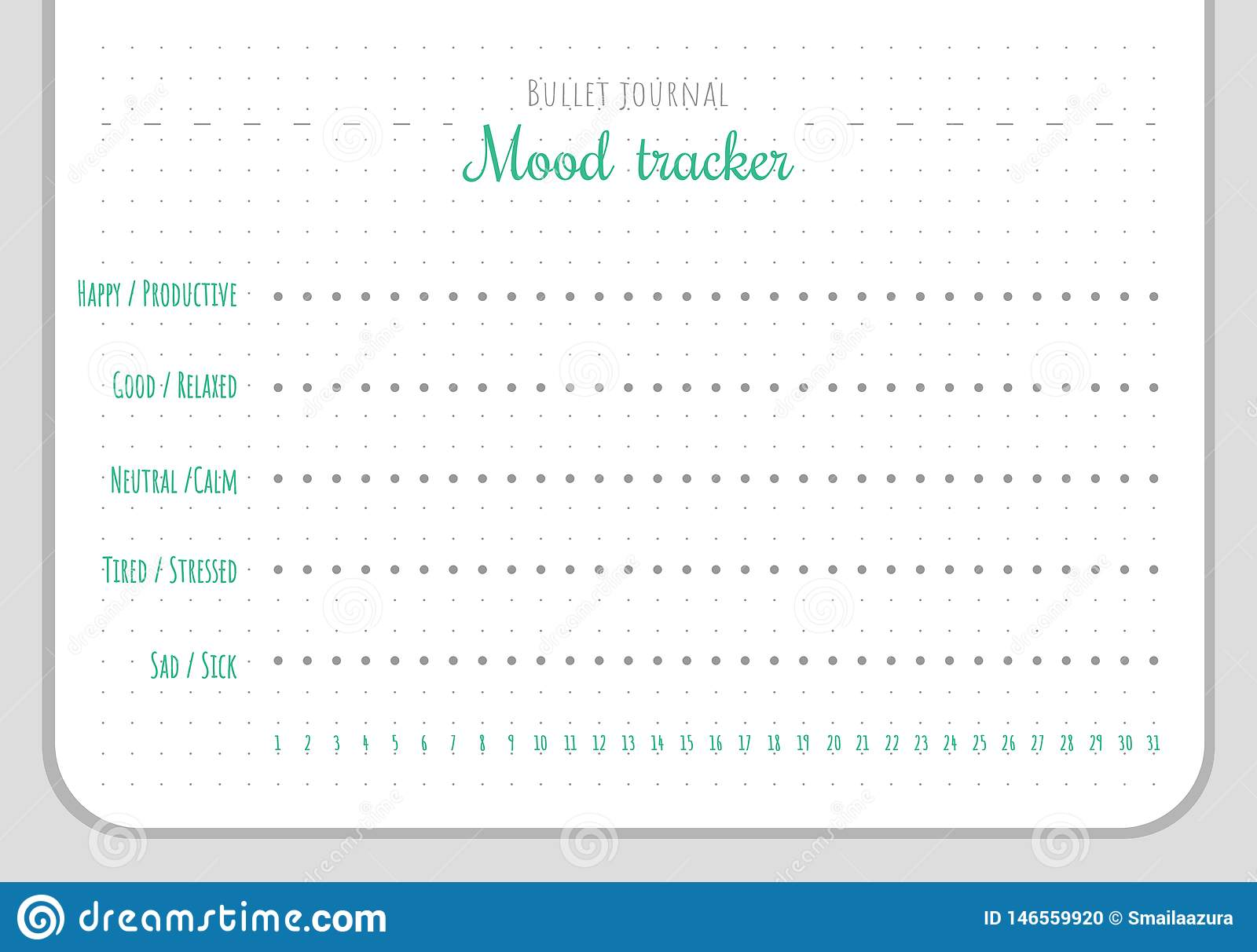 This is an image of Printable Mood Chart in feeling