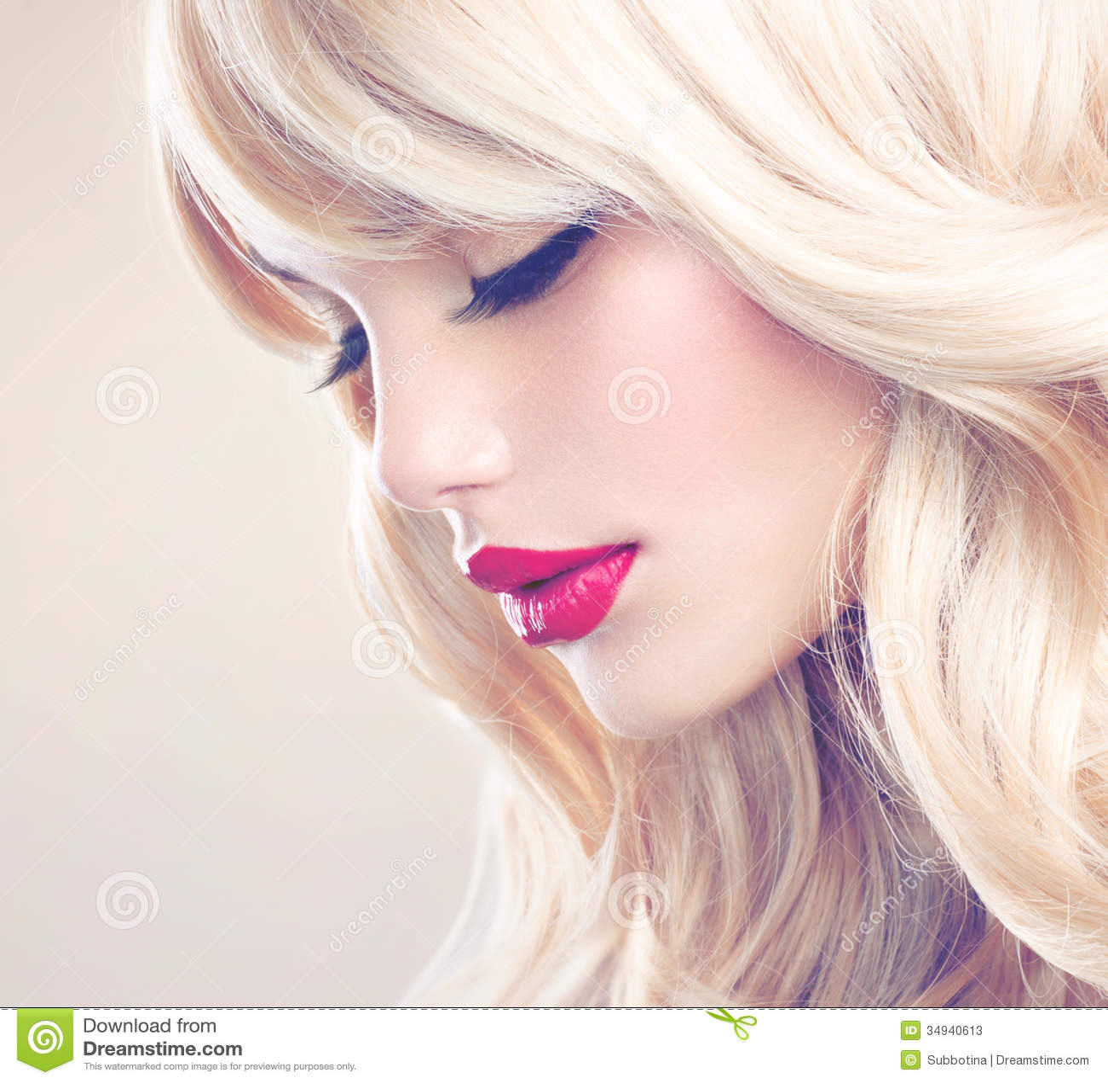 Mooi Blond Meisje