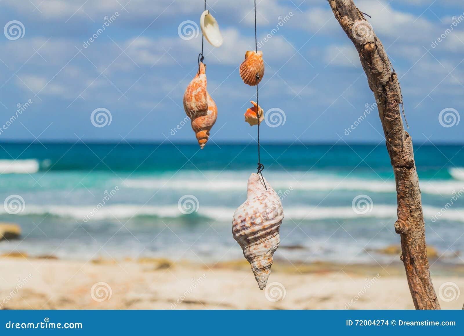 Mooi eiland, strand van Isla Mujeres, Mexico