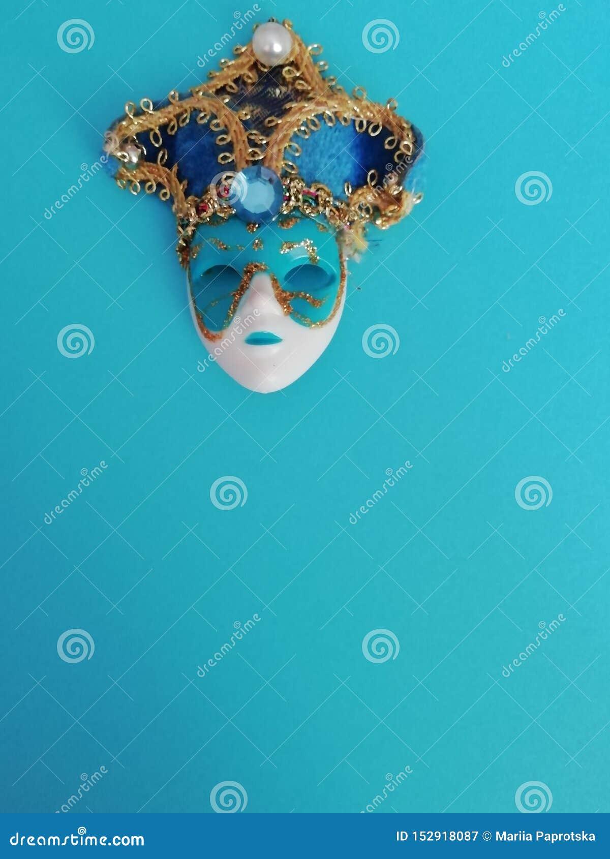 Mooi elegant Venetiaans masker voor verschillend ontwerp