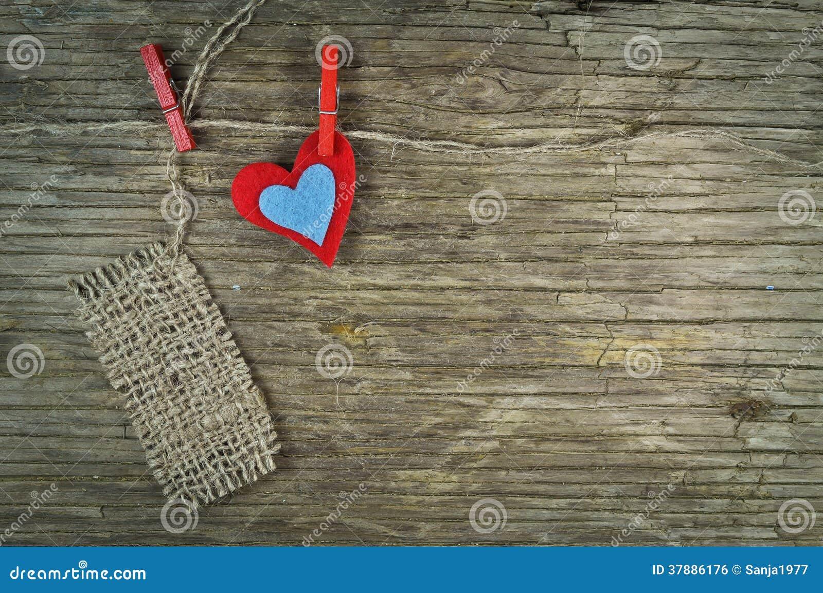 Mooi hart en een nota