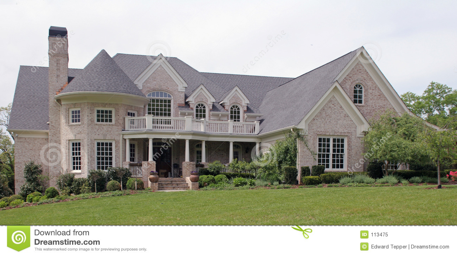 Mooi huis royalty vrije stock foto afbeelding 113475 - De gevels van de huizen ...