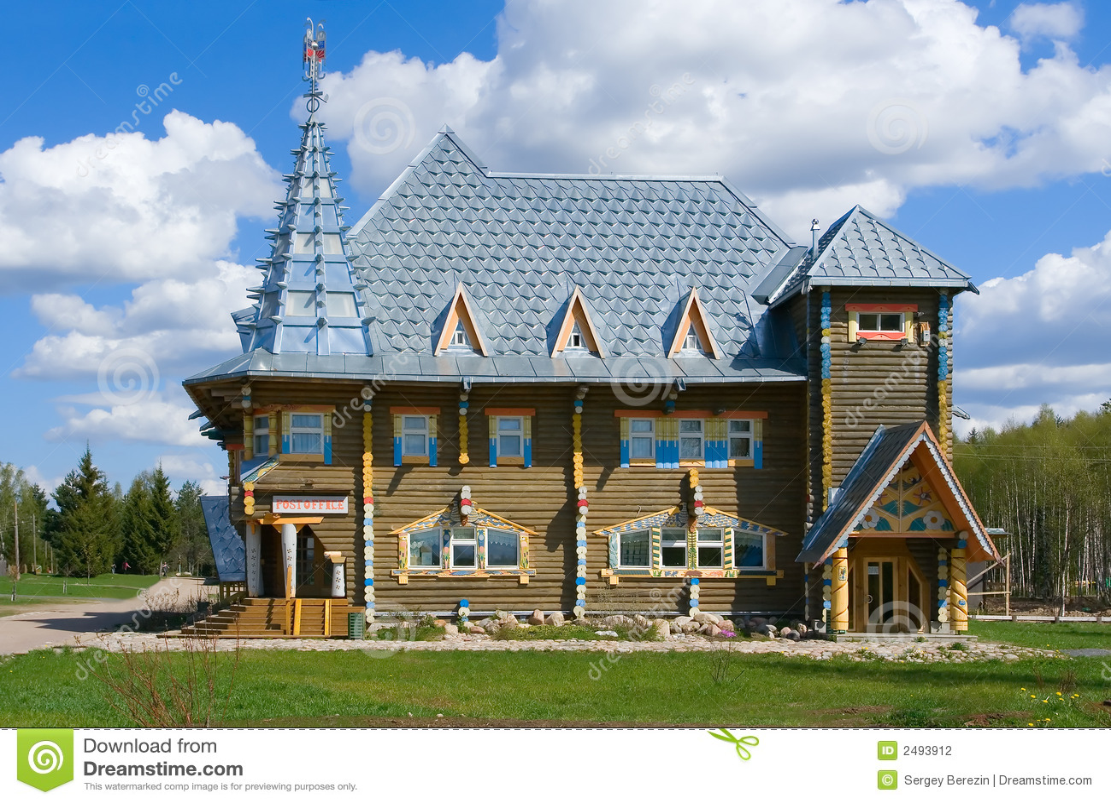 Mooi huis stock foto afbeelding bestaande uit blauw familie 2493912 - Mooi huis ...