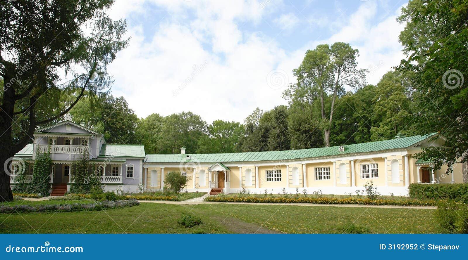 Mooi huis stock foto afbeelding bestaande uit groen scenics 3192952 - Mooi huis ...