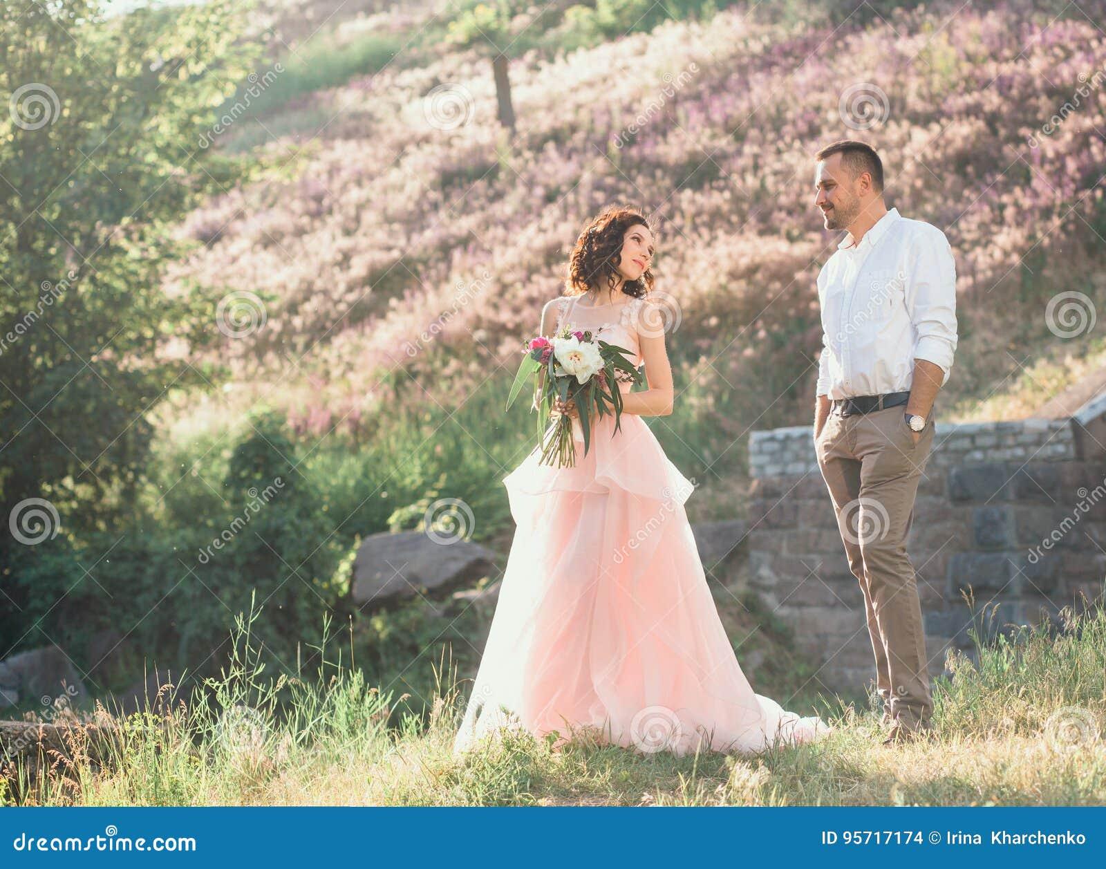 Mooi huwelijk in aard